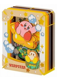 Kit Bricolage Paper Theater - Kirby Warpstar