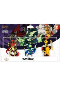 Figurine Amiibo Shovel Knight - 3-Pack Specter Knight/Plague Knight/King Knight