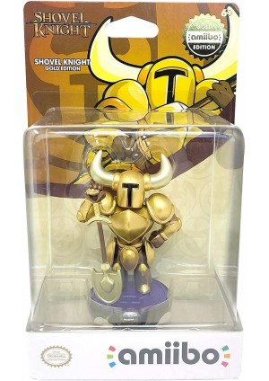 Figurine Amiibo Shovel Knight Gold