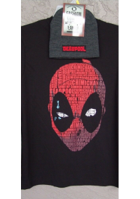 T-Shirt Deadpool - Texte