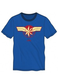 T-Shirt Marvel - Captain Marvel Logo