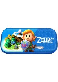 Étui De Transport Rigide Pour Nintendo Switch Tough Pouch Par Hori - Zelda Link's Awakening