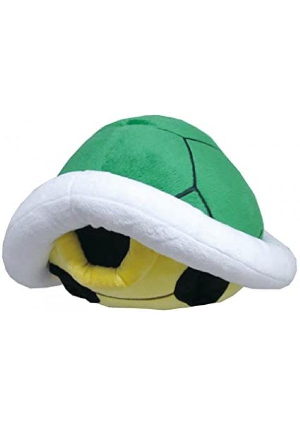 Toutou (Coussin) Mario Kart - Carapace Verte 13 pouces