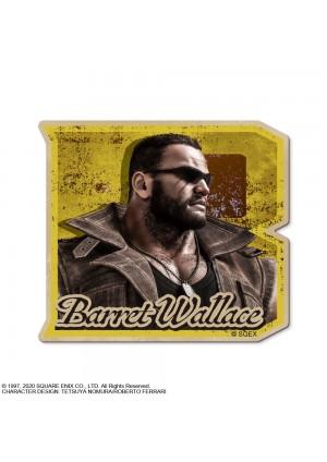 Autocollant Final Fantasy VII Remake - Barrett Wallace