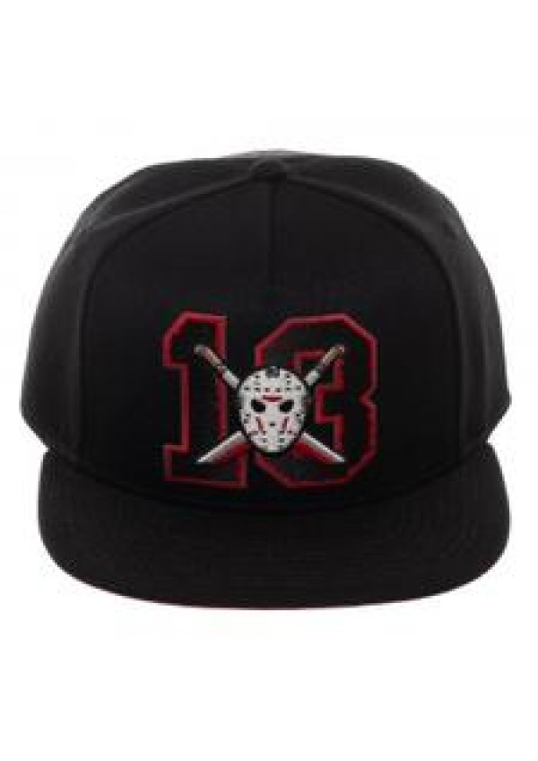 Casquette Ajustable Friday the 13th - 13 Et Masque