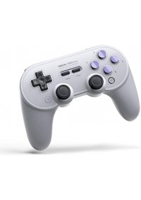 Manette 8Bitdo SN30 Pro+ Gamepad Bluetooth Grise Pour Switch, Android IOS, Windows, Steam Et Mac OS