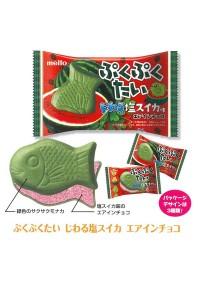 Biscuit Chocolaté en forme de Taiyaki ''Puku Puku Tai'' - Saveur Pastèque