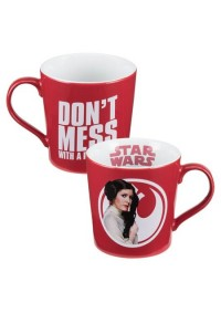 Tasse en Céramique Star Wars - Leia Doesn't Mess With A Princess