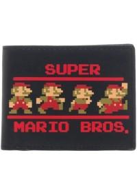 Portefeuille Super Mario - Super Mario Bros. Pixelisé