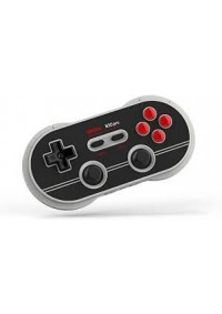 Manette 8Bitdo N30 Pro 2 Gamepad Bluetooth Noire Pour Switch, Android IOS, Windows, Steam Et Mac OS
