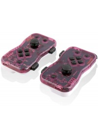 Ensemble De 2 Manettes Dualies Pour Nintendo Switch Par Nyko (Joy-Con Alternative) - Mauve