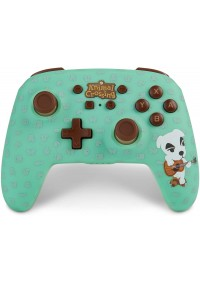 Manette Enhanced Controller Sans Fil Pour Nintendo Switch Par PowerA - Animal Crossing K.K.