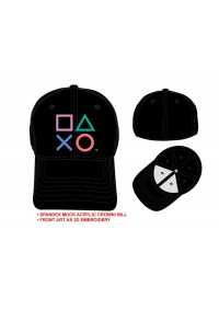 Casquette Sony Playstation - Icônes Brodés