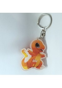 Porte-Clé en Acrylique Pokemon - Charmander