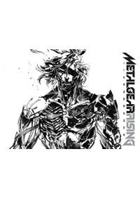 Artbook Metal Gear Rising Revengeance Par Yoji Shinkawa