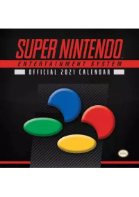 Calendrier 2021 - Super Nintendo Entertainment System Official 2021 Calendar