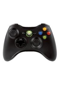 Manette Xbox 360 Officielle Sans Fil Microsoft - Noire