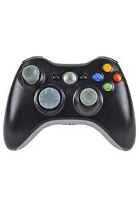Manette Xbox 360 Officielle Sans Fil Microsoft - Grise Noire