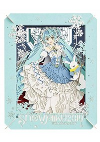 Kit Bricolage Paper Theater - Hatsune Miku  Snow Miku 2019 10th Anniversary