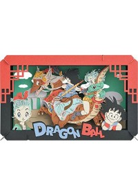 Kit Bricolage Paper Theater DragonBall - Adventure of Goku and Bulma