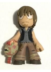 Figurine Funko Pop Mystery Mini - Walking Dead Daryl Et Tête Zombie (8cm)
