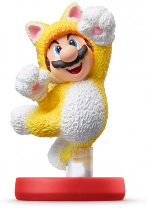 Figurine Amiibo Super Mario Series - Mario Chat (Cat)