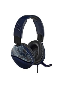 Casque D'écoute Avec Fil EarForce Recon 70 Turtle Beach / PS4 / PS5 / Xbox One / Switch - Bleu Camo