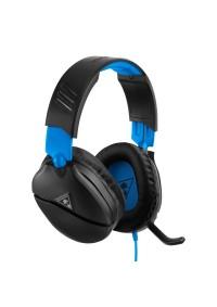 Casque D'écoute Avec Fil EarForce Recon 70 Turtle Beach / PS4 / PS5 / Xbox One / Switch - Bleu Noir