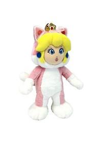 Toutou Super Mario Par Sanei - Princesse Peach Chat 10 Pouces