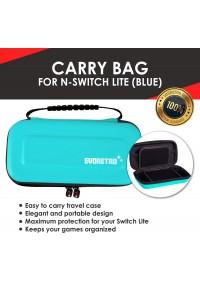 Étui de Transport Rigide pour Nintendo Switch LITE par EVORETRO - Bleu