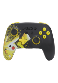 Manette Enhanced Controller Sans Fil Pour Nintendo Switch Par PowerA - Pikachu 25e Anniversaire