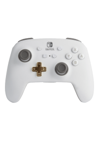 Manette Enhanced Controller Sans Fil Pour Nintendo Switch Par PowerA - Blanche