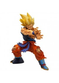Figurine Dragon Ball Legends - Collab Kamehameha Goku 17cm Par Banpresto