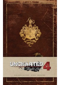 Carnet de Notes Naughty Dog - Uncharted 4 A Thief's End