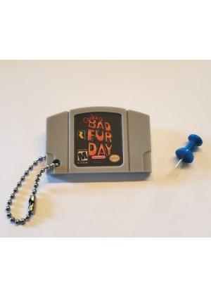 Porte-Clé Mini-Cartouche de N64 - Conker Bad Fur Day