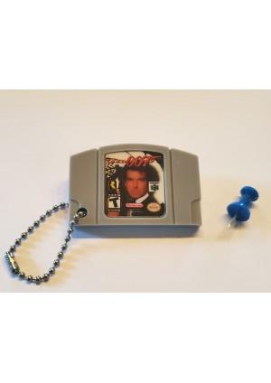 Porte-Clé Mini-Cartouche de N64 - Goldeneye 007