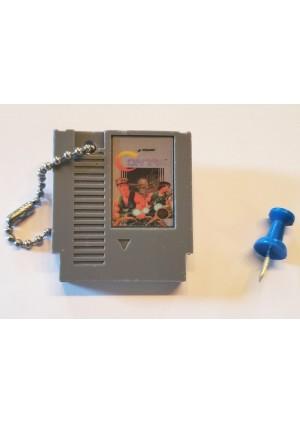 Porte-Clé Mini-Cartouche de NES - Contra