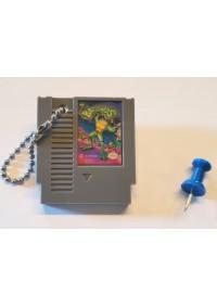 Porte-Clé Mini-Cartouche de NES - Battletoads