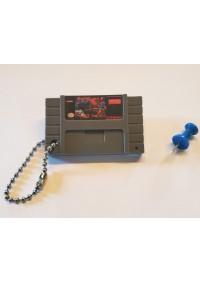 Porte-Clé Mini-Cartouche de SNES - Street Fighter II