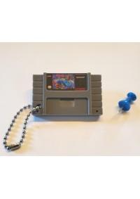 Porte-Clé Mini-Cartouche de SNES - TMNT Turtles in Time