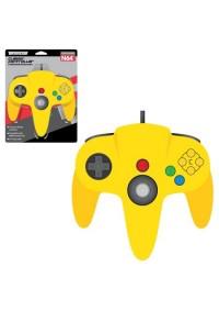 Manette Nintendo 64 / N64 Par Teknogame - Jaune