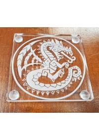 Sous-Verre en Acrylique Monster Hunter - Logo de la Guilde des Hunters  par Créations STG