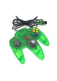 Manette Nintendo 64 / N64 Officielle Nintendo - Verte Transparente