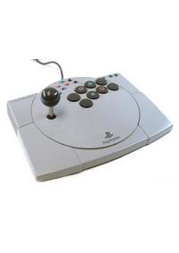Fighter Stick V Par ASCII Pour PS1 / PS2 - Gris