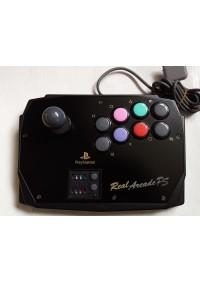 Fight Stick Real Arcade Par Hori (HPS-10) Pour PS1 / PS2 - Noir