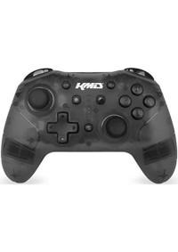 Manette Pro Controller Sans Fil Avec Turbo Pour Nintendo Switch Par KMD - Noir